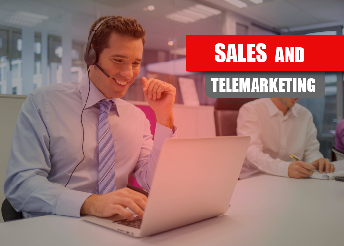 sales and telemarketing