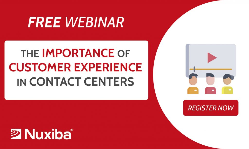 Customer experience in contact centers.
