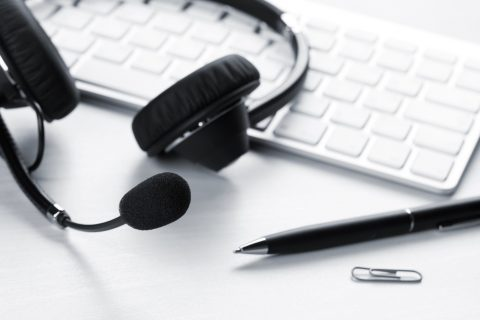 Headphones-and-pen